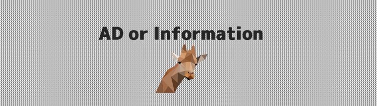 Giraffeの広告サンプル