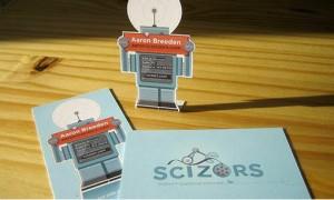ロボット名刺