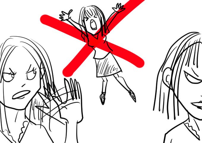 女子グループ怖い