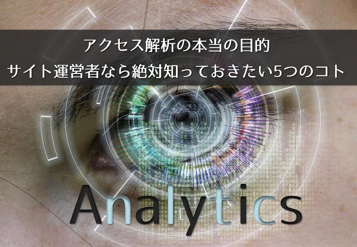 アクセス解析