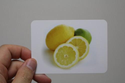 レモンのカード