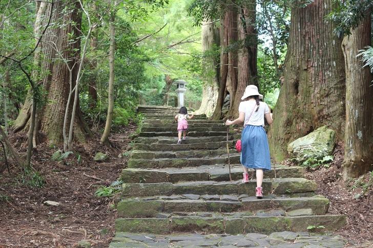 熊野古道を進む