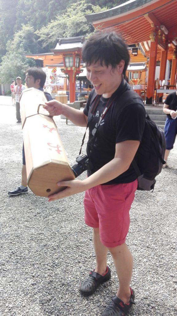 熊野那智大社のおみくじ