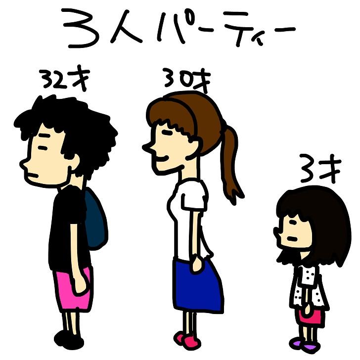 3人家族2